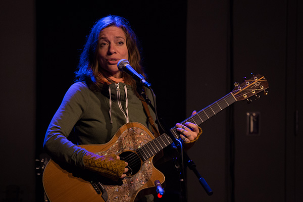 In Pictures: Ani DiFranco Live Recording at The Stage
