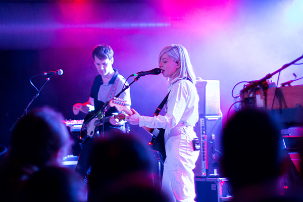 Alvvays played a sold-out show Friday, April 27, 2018 at The Ready Room in St. Louis. Frankie Rose opened the show. Photos by Karl Beck.