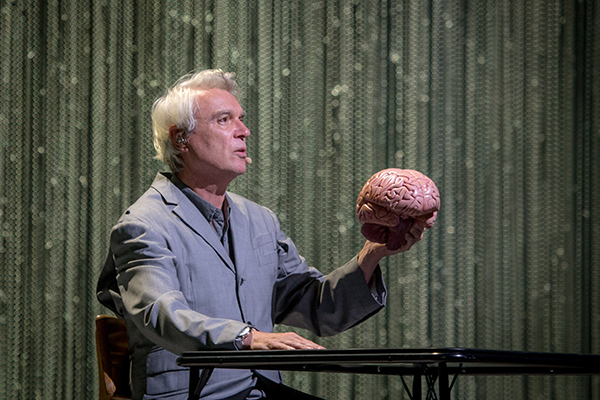 David Byrne. The Peabody Opera House. Friday, July 8, 2918. Photos by Monica Mileur.