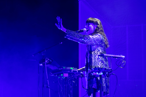 Kimbra at Delmar Hall, May 30, 2018. Photo by Karl Beck.