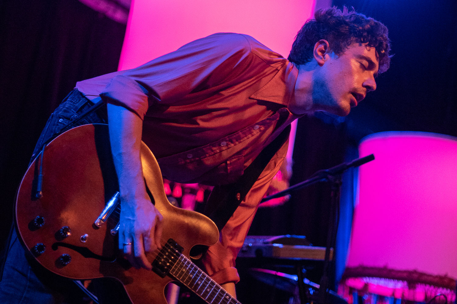 Born Ruffians played at the Old Rock House on May 18, 2018. Photos by Doug Tull
