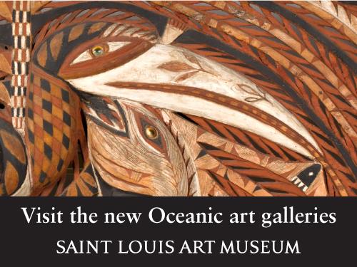Reinstalled galleries present a new view of Oceanic art at the Saint Louis Art Museum