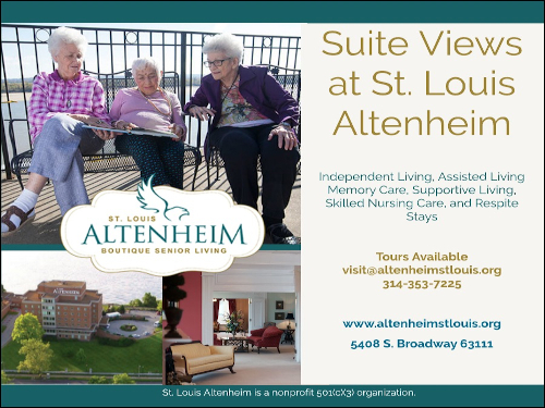Suite Views at St. Louis Altenheim