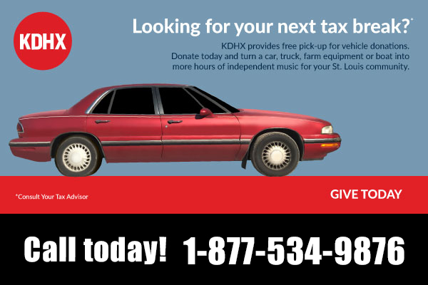 Turn Your Old Car Into Support For KDHX