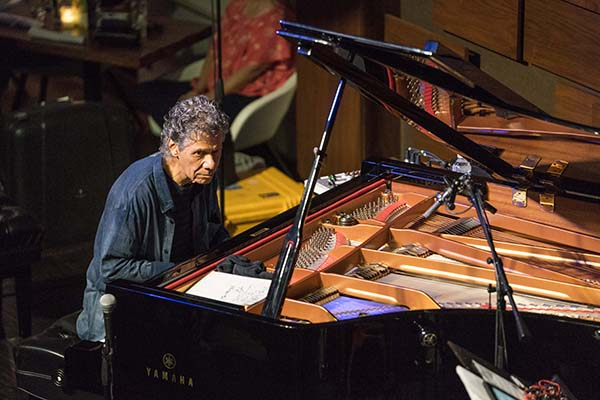 Chick Corea Trio. Photos by Tim Farmer.