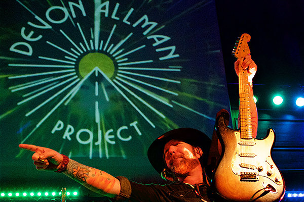 Devon Allman Project. Photos by Colin Suchland.