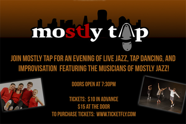 Tonight at The Stage at KDHX: moSTLy TAP
