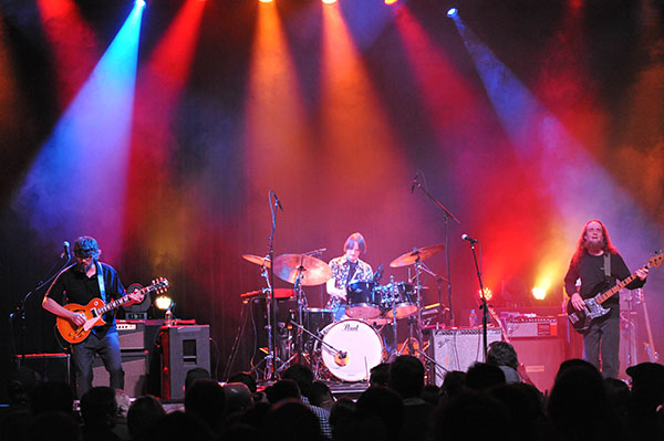 North Mississippi Allstars live at Delmar Hall, April 5, 2018. Photo by Bob Baugh.