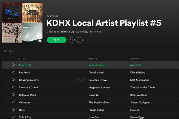 Let KDHX Fill Your Week With Music