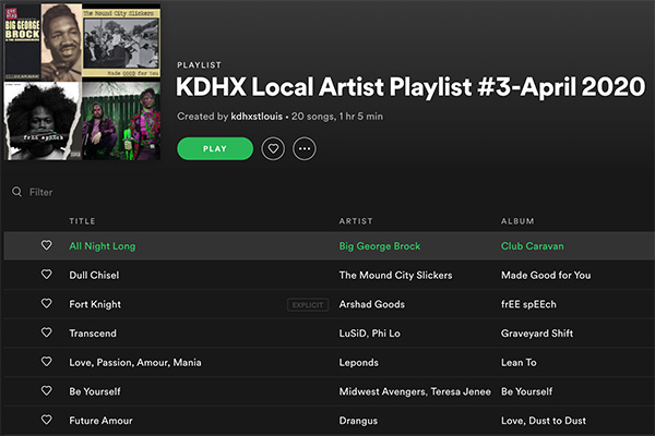 KDHX Is Here For You