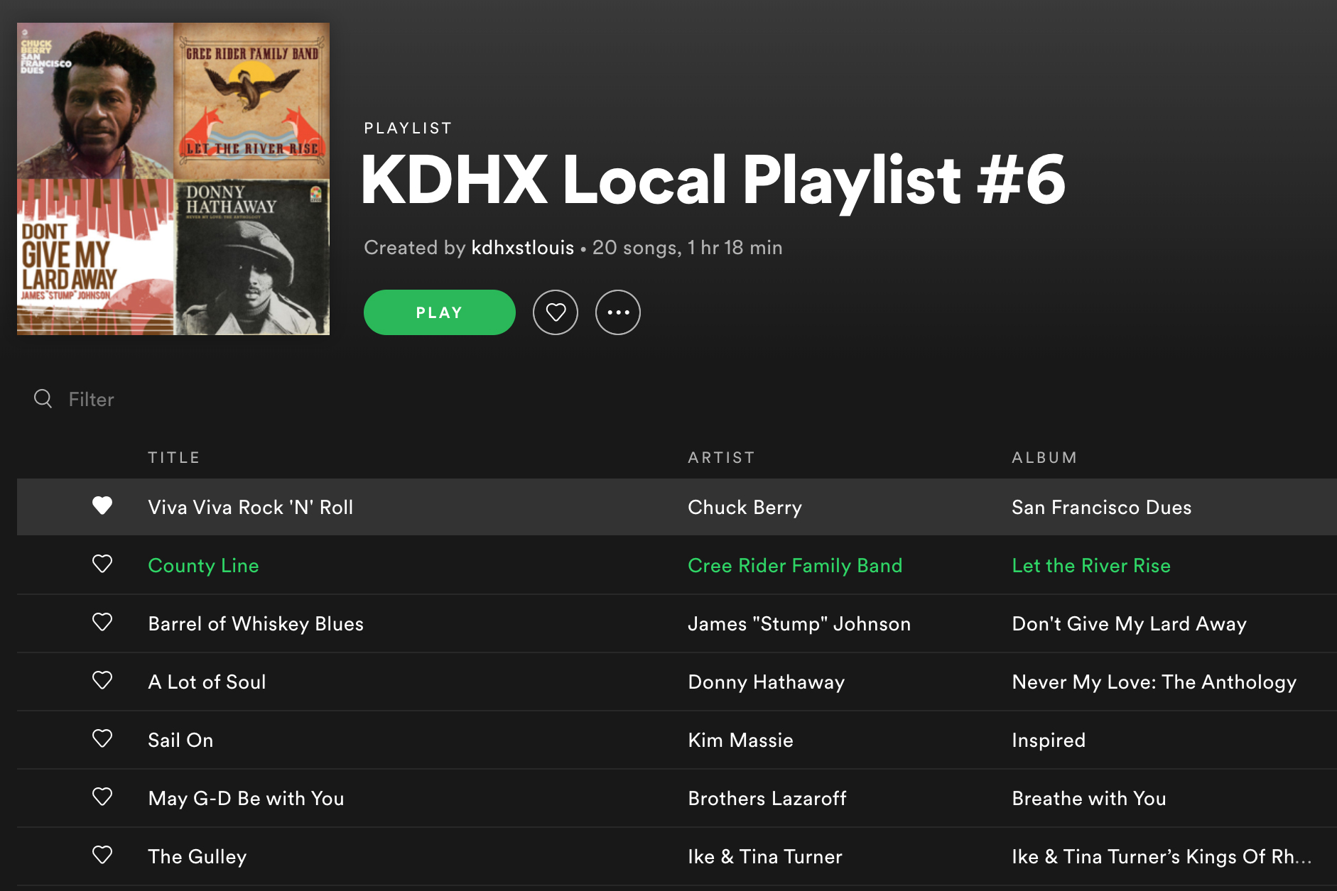 Thanks For Choosing KDHX!