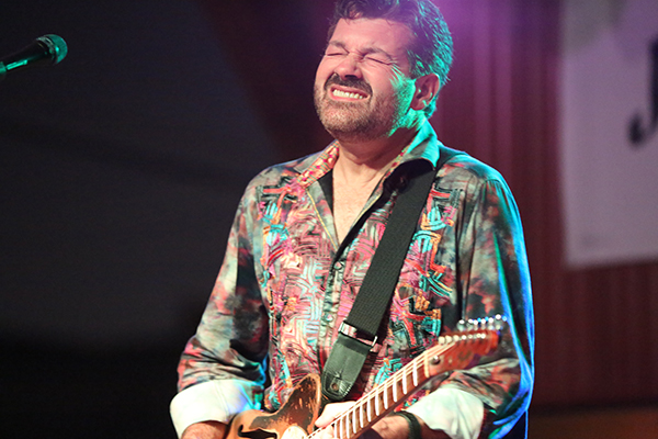Tab Benoit at Atomic Cowboy. Photo by Bill Motchan